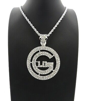 ICED OUT GLO GANG PENDANT 4mm/24