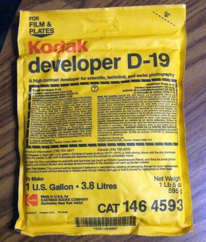 Vintage Kodak developer D-19 | Makes 1 Gallon | CAT 146 4593
