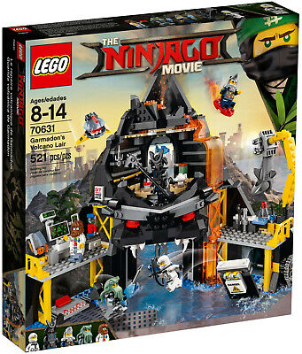 LEGO NINJAGO - GARMADON'S VOLCANO LAIR  |  70631 | SEALED BOX | RETIRED | MOVIE