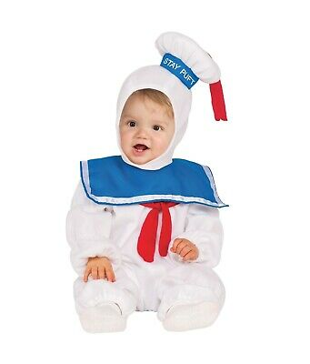 Baby Stay Puft (Stay Puft Marshmallow Man Toddler Child Costume Size 2T NEW)