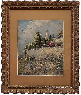 Stepan Kolesnikoff - Painting (Oil on Board) - Untitled Spring Landscape
