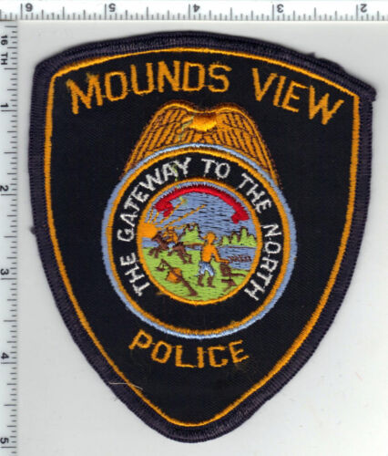 Mounds View Police (Minnesota) Shoulder Patch new from the 1980