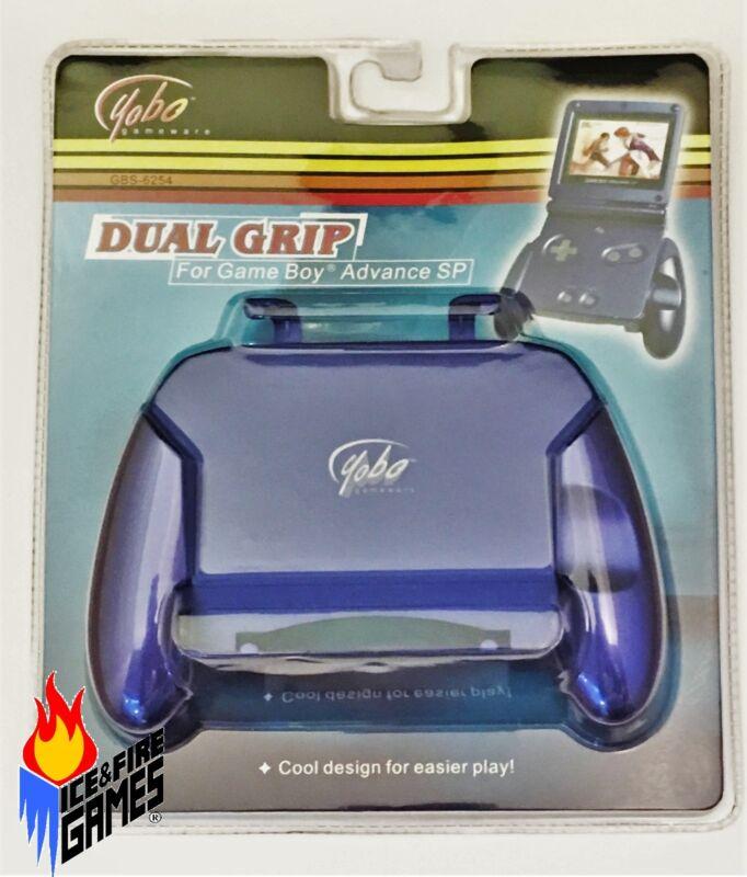 New Dual Grip for Nintendo Game Boy Advance GBA SP - Cobalt Blue