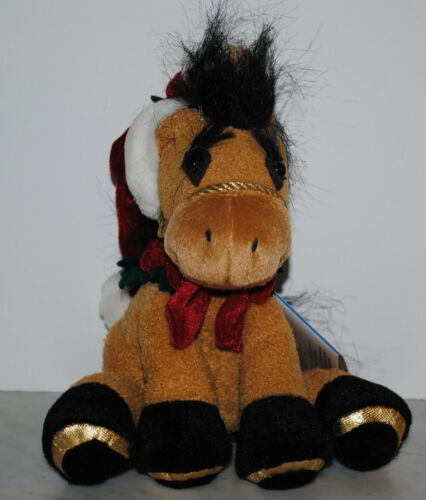 Breyer~2002~Nicholas~Christmas Holiday Plush Horse~NEW