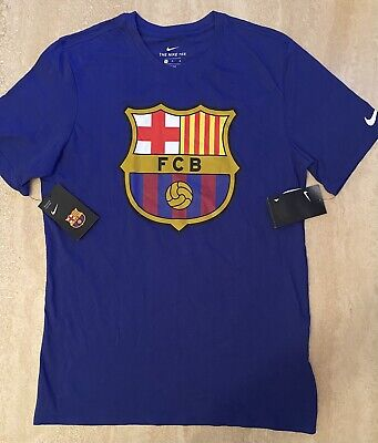 NIKE BARCELONA FCB MENS DRI FIT T SHIRT TOP BRAND NEW WITH...