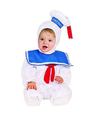 Ghostbusters - Stay Puft Marshmellow Man Toddler Costume - Toddler Ghostbusters Costume