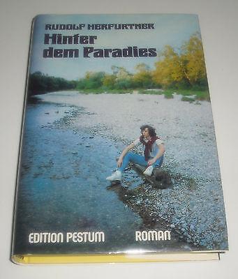 Buch 80er Jahre:  Hinter dem Paradies -Gebundene Ausgabe- Jugendbuch Mädchenbuch