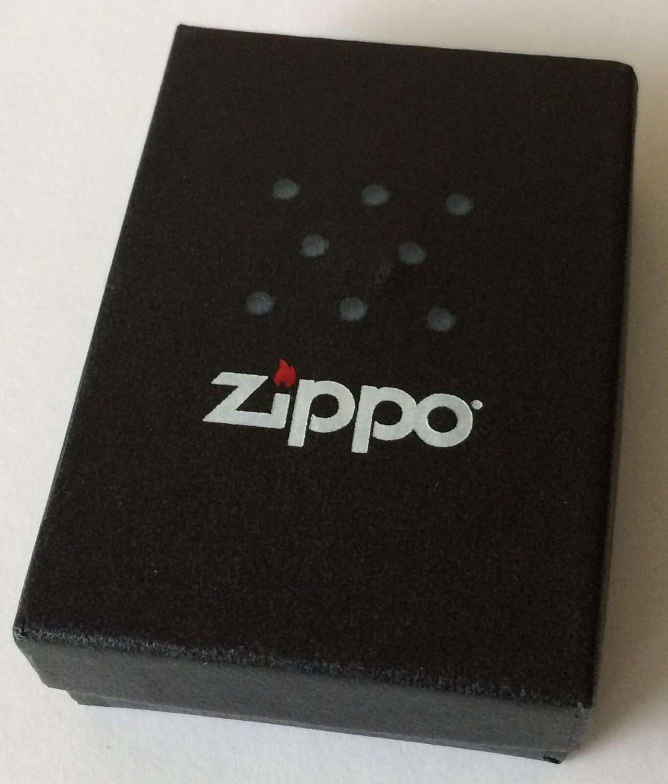 Zippo Windproof Black Matte Lighter,  Item 218, New In Box