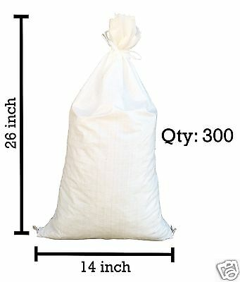 Sandbags For Sale - 300 White 14