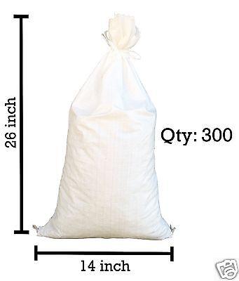 Sandbags For Sale - 300 White 14