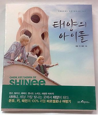SHINEE Children of the Sun Photobook ONEW KEY TAEMIN of SHINee in Barcelona