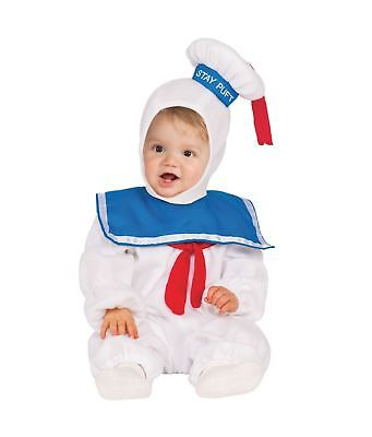 Stay Puft Marshmallow Man Toddler Child Costume Size 4T NEW Ghostbusters - Toddler Ghostbusters Costume