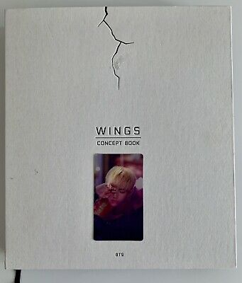 BTS Wings Concept Book with TAEHYUNG(V) Lenticular Photo Card