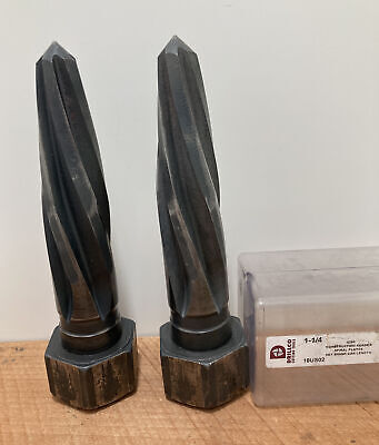 2 X 429a 1-14 Construction Reamer Spiral Flutes Drillco Cutting Tools