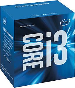 Intel Core i3-6100 Processor 3M Cache 3.70 GHz LGA1151 CPU Skylake Desktop