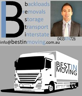 BEST PRICE Interstate Removals & Backloads Moving Australia Wide Brisbane Region Preview