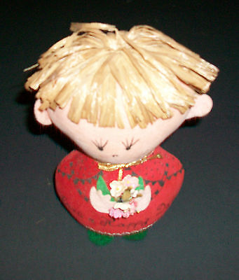 Vintage Dolly Gram By Western Union Have A Happy Day Plush Doll 6