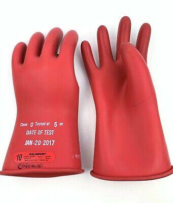 Salisbury By Honeywell Gloves Class 0 Type 1 Max Use Volt 1000 Ac Sz 10
