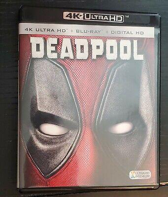 Deadpool (4K Ultra HD Blu-ray + Blu-ray) No Digital