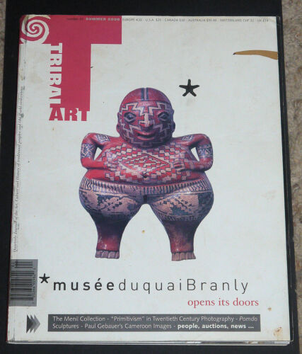 Tribal Arts Magazine #41 Summer 2006 Musee de Quai Branly opens its doors