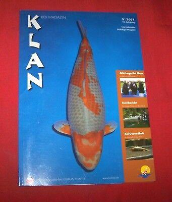 Klan Koi Magazin 2007 Nr  3 , 15. Jahrgang , Internationales Nishikigoi Magazin