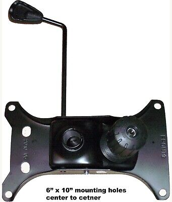 Zhejiang Himax Office Chair Parts Seat Plate Base Replacement 6x10 Holes Sp610