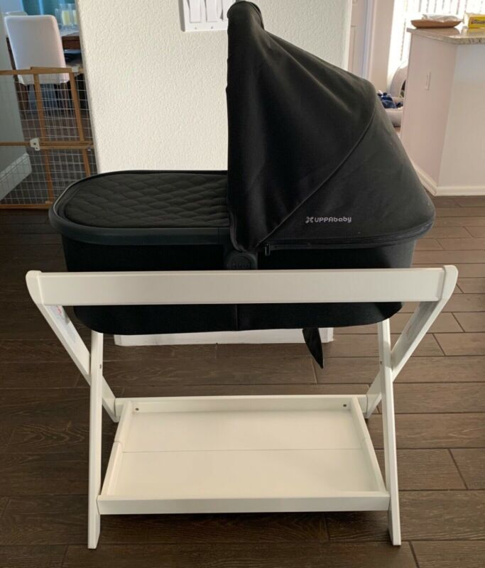 UPPAbaby White Bassinet Stand - excellent condition!