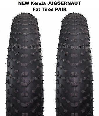 """Kenda K1151 Juggernaut Sport MTB Fat Tire  26 x 4.8/""""  Folding Bead Tube"""
