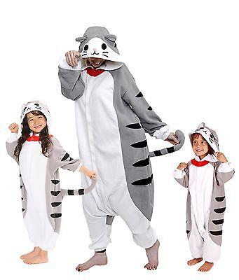SAZAC Tabby Cat Kigurumi - Kids & Adults Costumes from USA](Cat Costumes Kid)