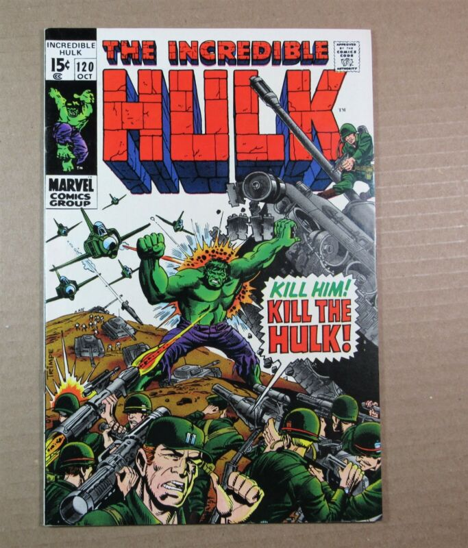 The Incredible HULK #120 and #121 ~~ the origin of the Glob!!  1969!
