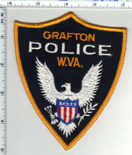 Grafton Police (West Virginia) 2nd Issue Shoulder Patch