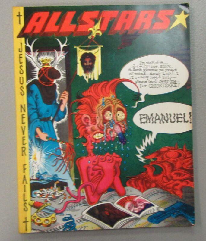 Arbunich And Dubay Presents All Stars R. Crumb 1970 Underground Comics RARE