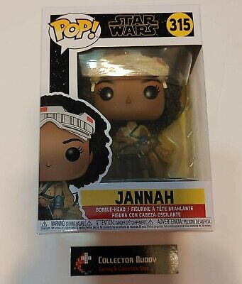 Funko Pop! Star Wars 315 Jannah Episode 9 Pop Vinyl Bobble Head FU39884