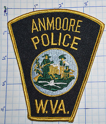 WEST VIRGINIA, ANMOORE POLICE DEPT PATCH