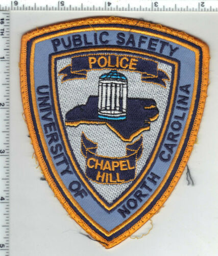 University of North Carolina Public Safety 1st Issue Uniform Take-Off Patch