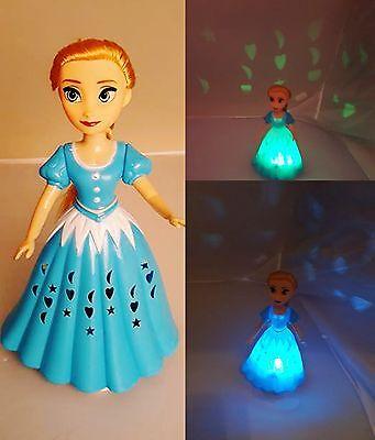 """Frozen die Eiskönigin singende """"Elsa"""" Look Puppe mit Lichtspiel und Musik"""