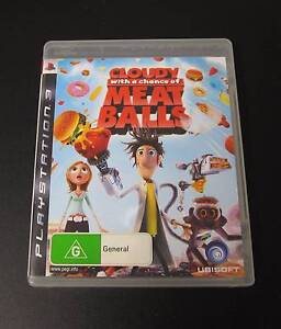 CLOUDY WITH A CHANCE OF MEATBALLS - PLAYSTATION 3 Algester Brisbane South West Preview