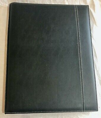 Faux Leather Portfolio Folder Business Professional Portfolio   Bd0497