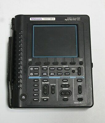 Tektronix Handheld Digital Oscilloscopebattery Ths730a 200mhz1gss
