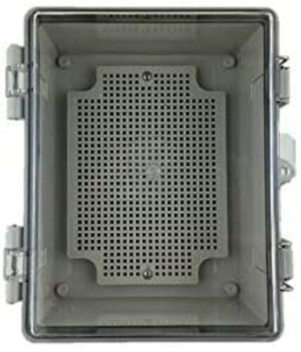 "DAE B1722 Plastic watertight NEMA 4 Enclosure with Lock Hole, 6.9""x8.66""x3.94"""
