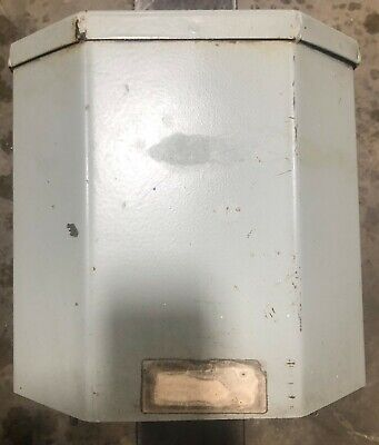 Westinghouse Transformer 10 Kva 480240 - 240120 Volt Single Phase 6f323