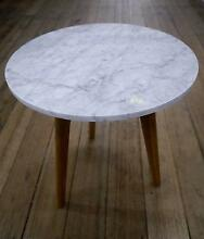 New Round Small Marble Scandi Danish Design Side Coffee Tables Melbourne CBD Melbourne City Preview