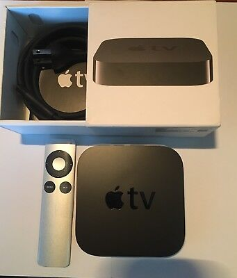 Apple Tv  3Rd Generation  Md199ll A  Digital Source Streamer  Great Condition