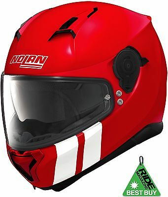 Nolan N87 Martz N Com Corsa Ducati Red Motorcycle Helmet Pinlock Ride Best Buy