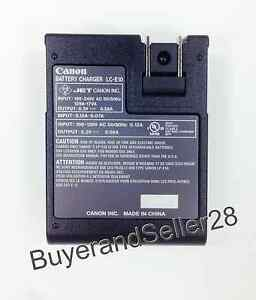 Genuine-Canon-Battery-Charger-LC-E10-Fits-Rebel-T3-T5-LP-E10-Battery