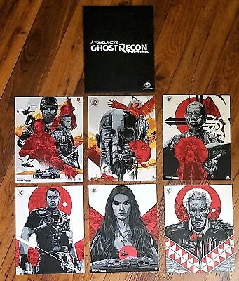 Ghost Recon Wildlands War Within The Cartels Limited Edition Art
