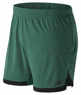 New Balance Men's Q Speed Breathe Short Green