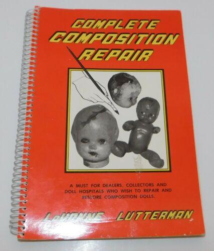 Complete Composition Repair Restoration LaVonne Lutterman Doll Hospital