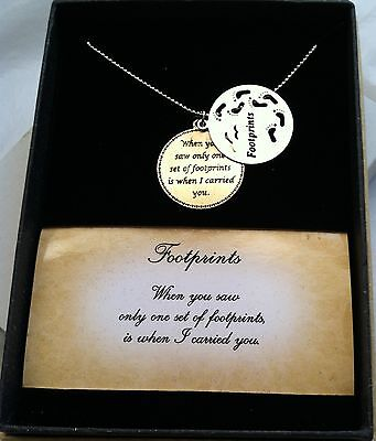 """Qvc Silver Plated Pendant Beaded Chain Length 18"""" Footprint Round Shaped Pendant"""