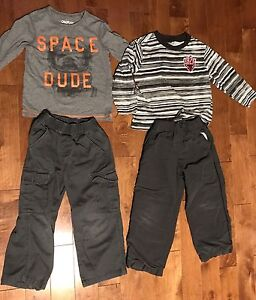 Lot of 19 items for boy size 4